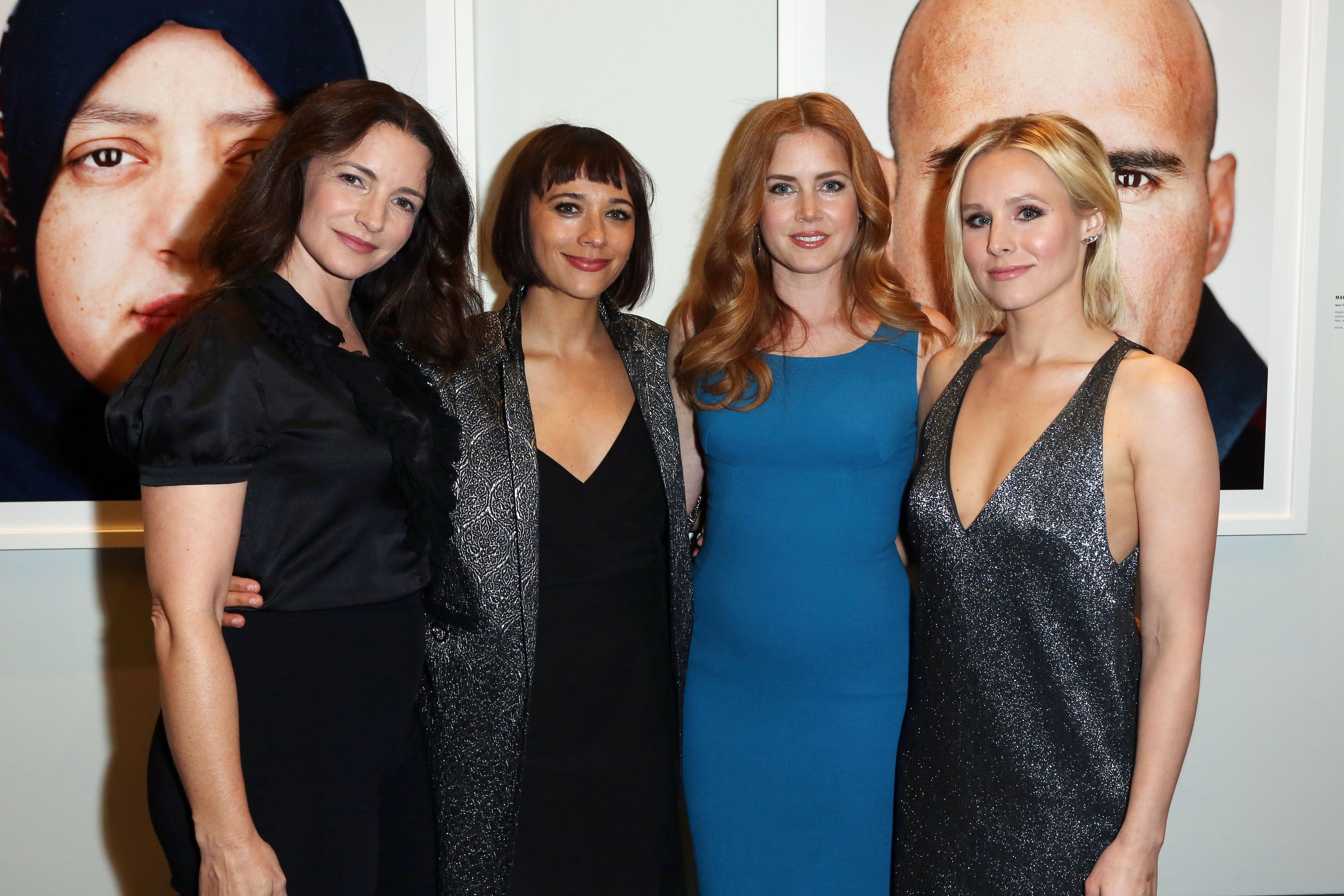 Kristin Davis, Rashida Jones, Amy Adams and Kristen Bell