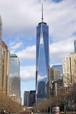 Condé Nast is headquartered at One World Trade.