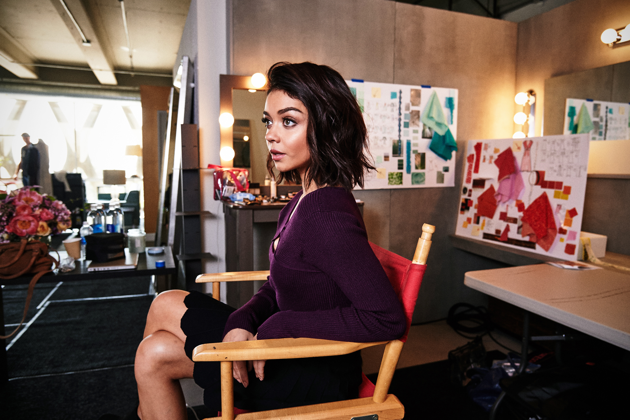 Behind-the-scenes look at the Candie's campaign featuring Sarah Hyland.
