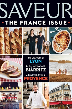 Saveur's May issue is all about France.