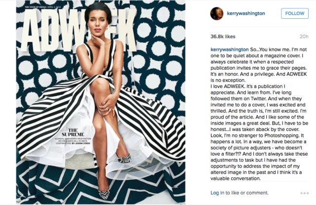 Kerry Washington's Instagram