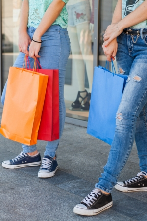 Teen spending is down overall, but up for higher-income households.