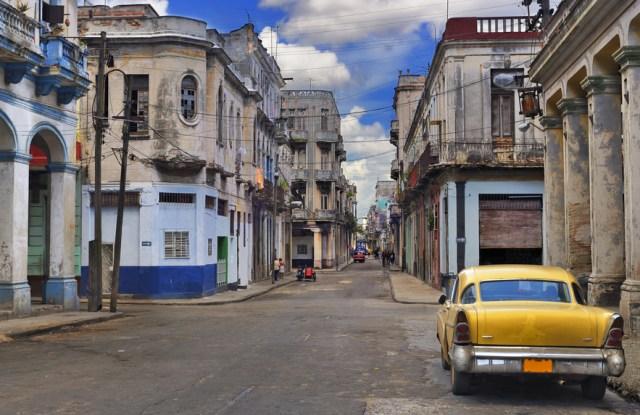 A side street in Havana.