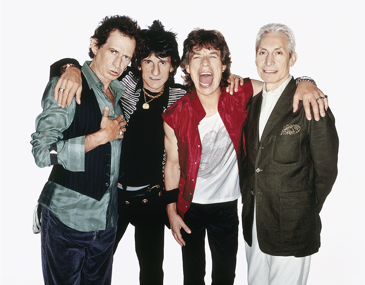 The Rolling Stones by Rankin