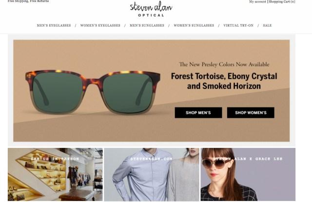 Steven Alan was Eponym's first designer eyewear licensee.