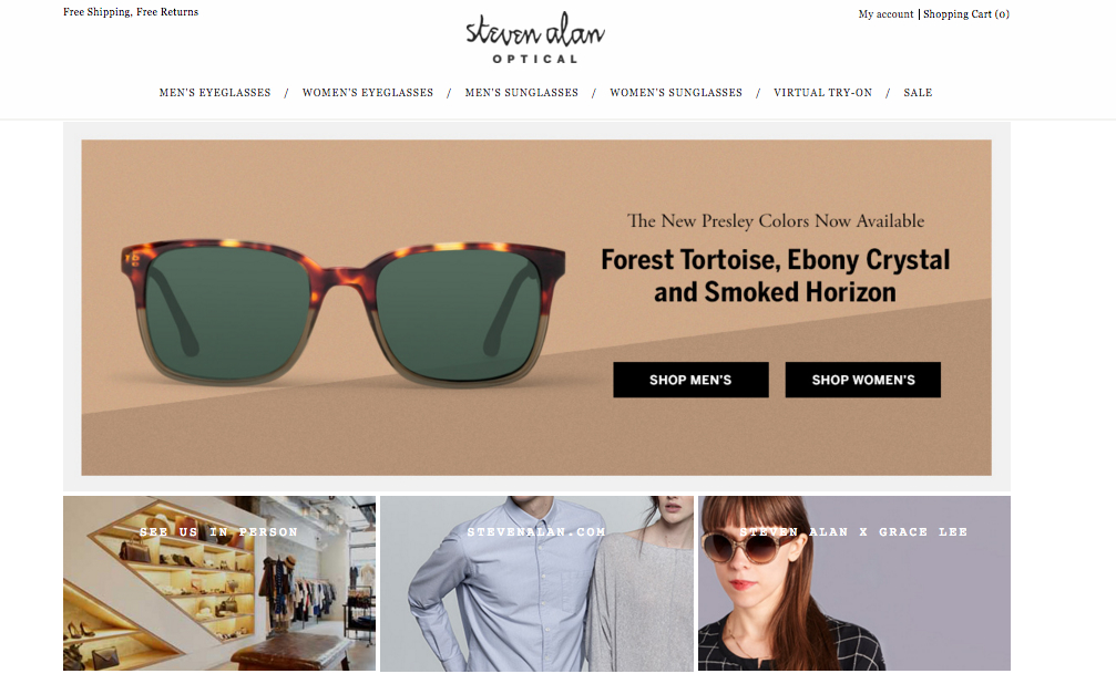 Steven Alan was Eponym's first designer eyewear licensee.