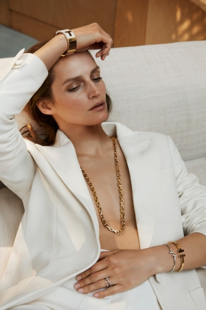 The Tiffany and Net-a-porter collaboration campaign.