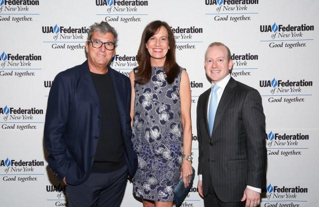 Andrew Rosen, Daniella Vitale and Yehuda Shmidman