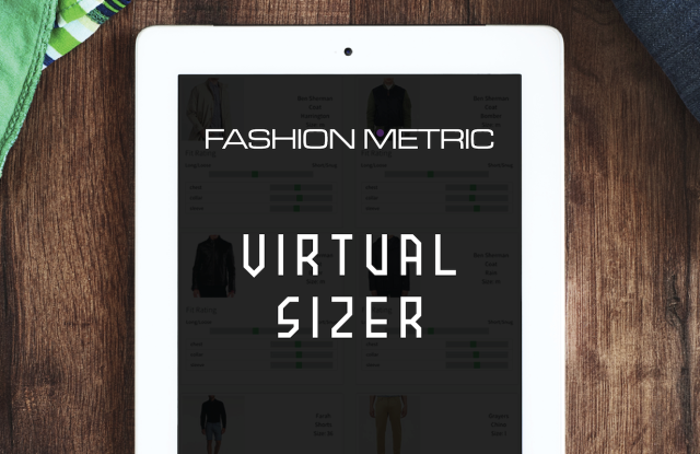 Fashion Metric's Virtual Sizer maps body measurements to rtw garments.