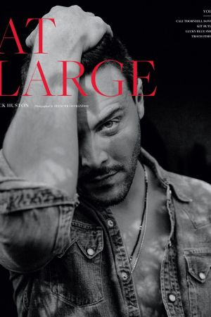 Jack Huston for At Large Issue 5.