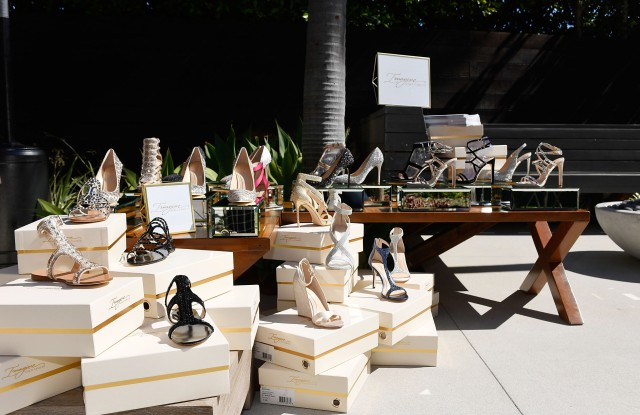The Vince Camuto Imagine footwear collection. Vince Camuto Ashlee Margolis party