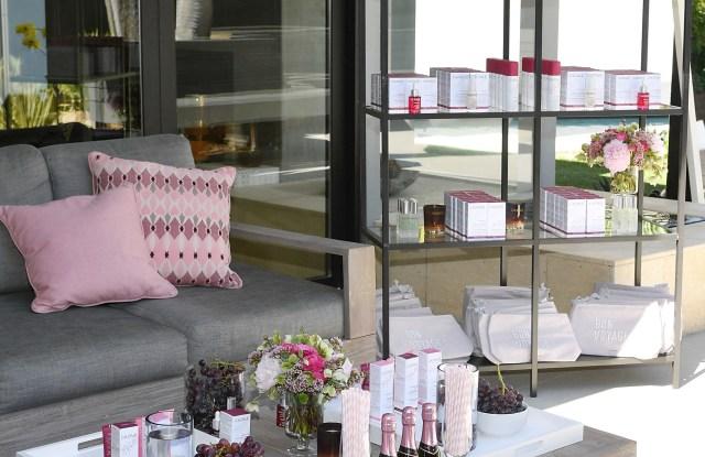 Caudalie beauty products. Vince Camuto Ashlee Margolis party