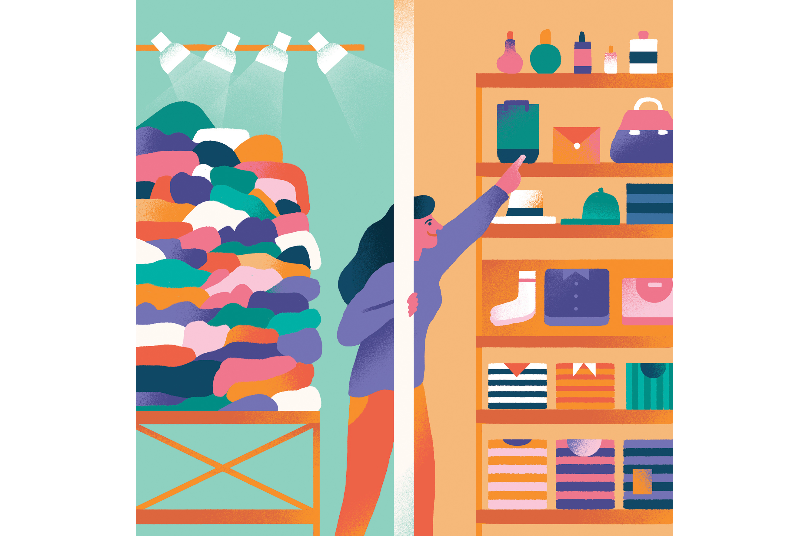 Early experiences suggest customers like the uncluttered feel, the friendlier associates and not having to lug shopping bags through the mall.