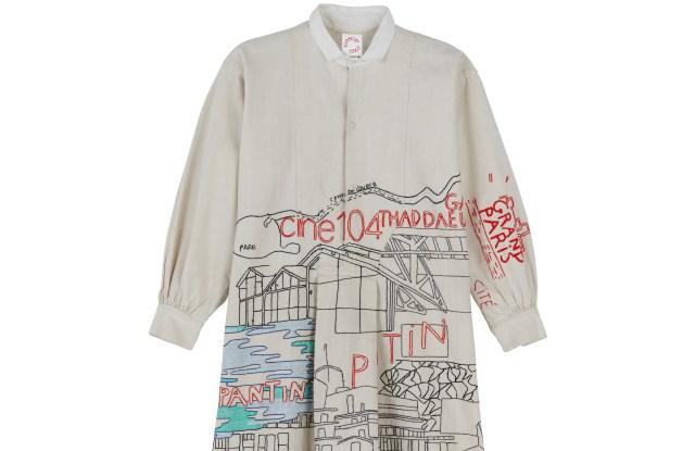 A Kilometre Paris shirt dedicated to Pantin
