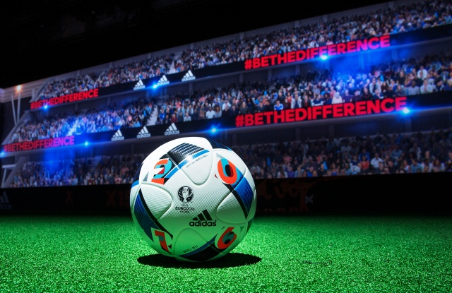 The Beau Jeu soccer ball by Adidas.