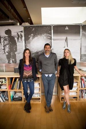 From left: Jaime Lewisohn Mann, Ramez Toubassy and Ann Gordon.