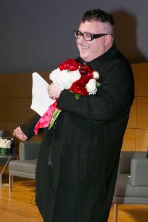 Alber Elbaz at Parsons