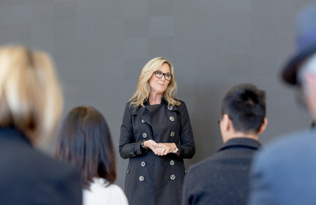 Apple's soon-to-be former senior vice president of retail, Angela Ahrendts