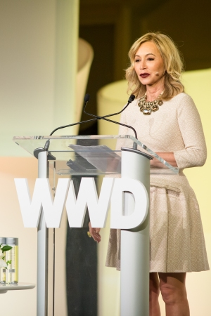 Anastasia Soare at the 2016 WWD Beauty CEO Summit