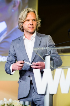 Aurelian Lis at the 2016 WWD Beauty CEO Summit