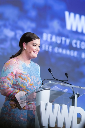 Jamie Kern Lima at the 2016 WWD Beauty CEO Summit