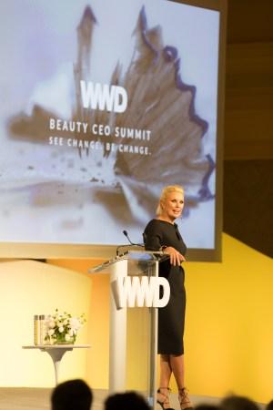Karen Buglisi Weiler at the 2016 WWD Beauty CEO Summit