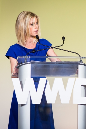Marla Malcolm Beck at the 2016 WWD Beauty CEO Summit