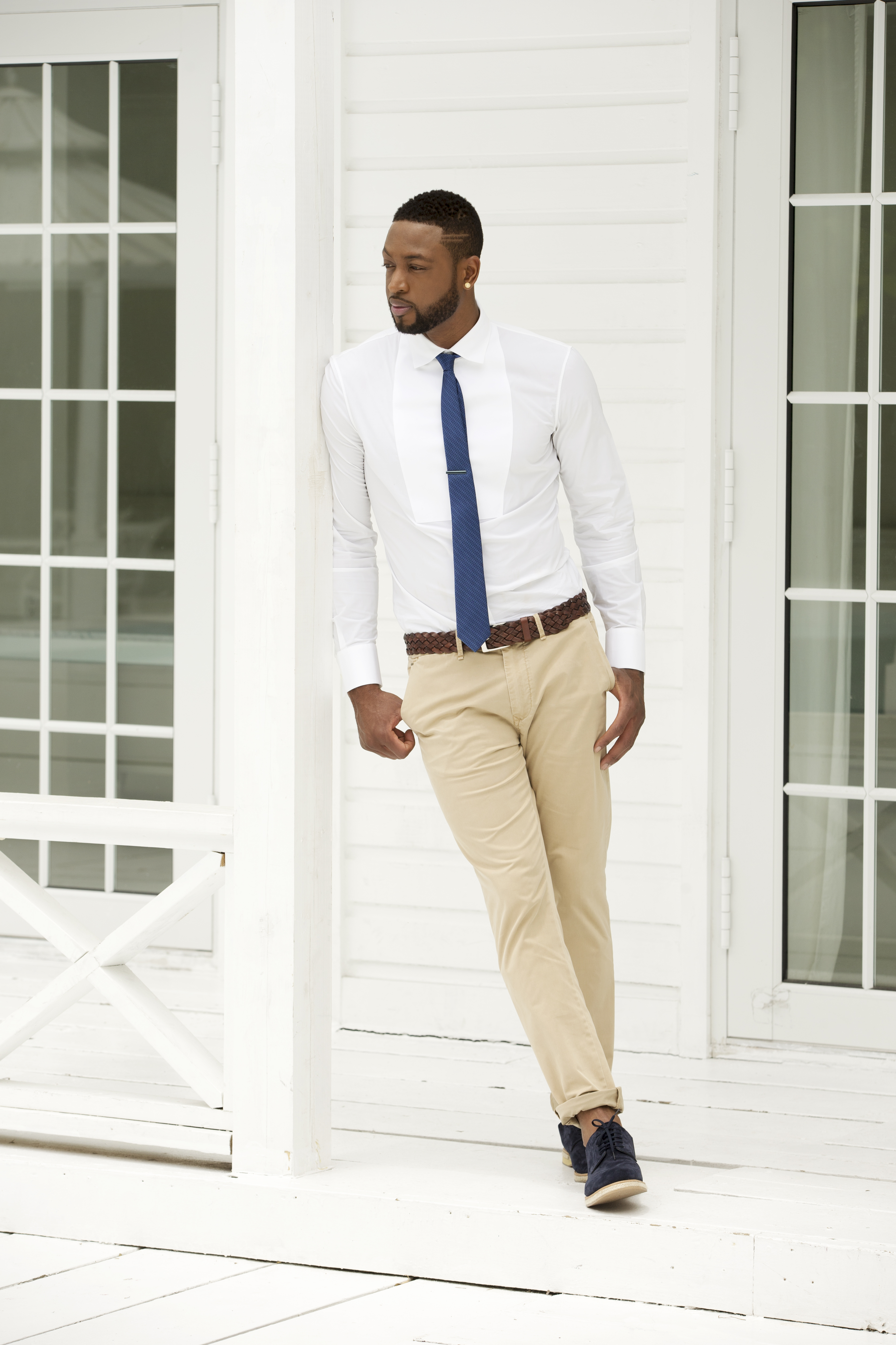Dwayne Wade for The Tie Bar.