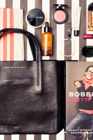 Bobbi Brown will donate a handbag will products to benefit The Adventure Project