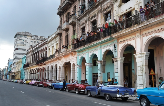 The atmosphere in Havana.
