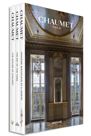 Chaumet's three-volume set is published by Assouline.