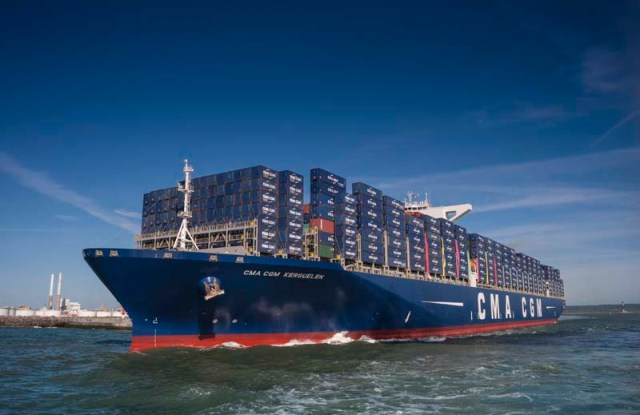 The CMA CGM Kerguelen.