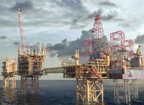 Maersk's Culzean gas field project.