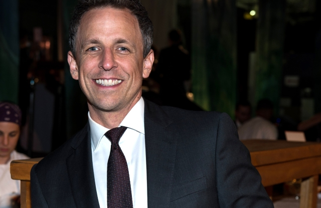 Seth Meyers at the 2016 Edible Schoolyard Spring Benefit