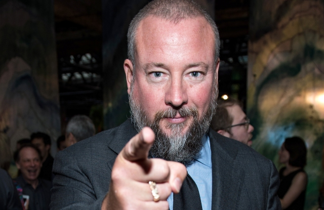 Shane Smith at the 2016 Edible Schoolyard NYC Spring Benefit