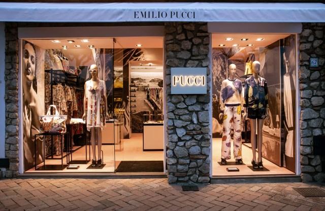 Emilio Pucci store in Capri