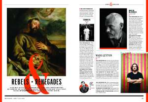 Esquire's 'Rebels & Renegades' feature.