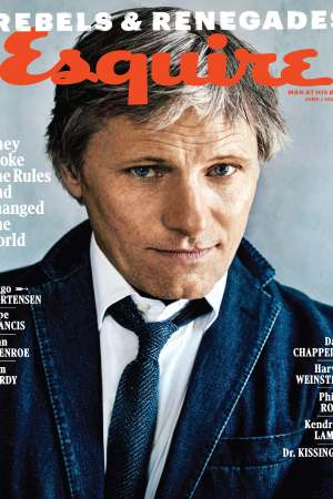 Esquire's June/ July 2016 cover.