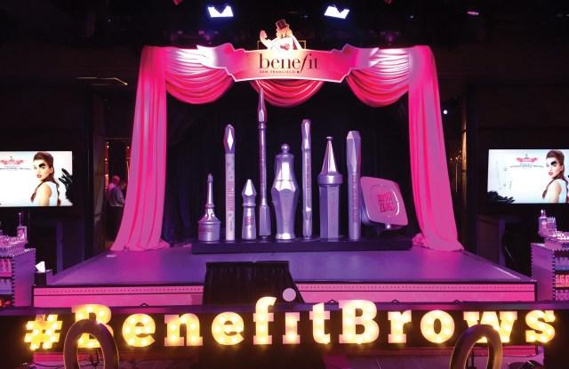 Benefit launch party in Las Vegas.