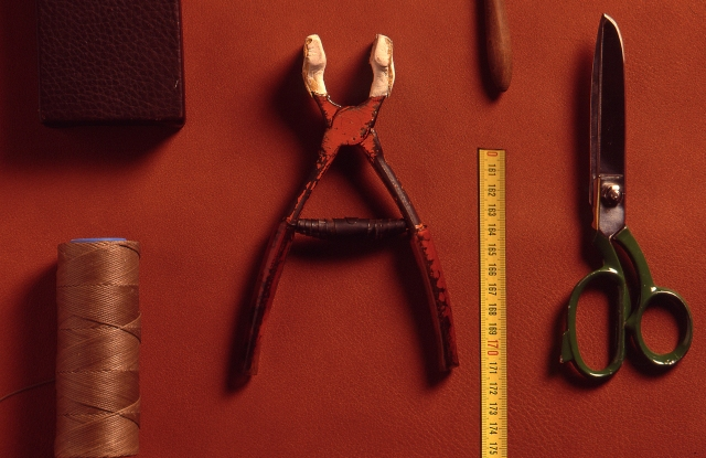 Tools of Fendi artisans.