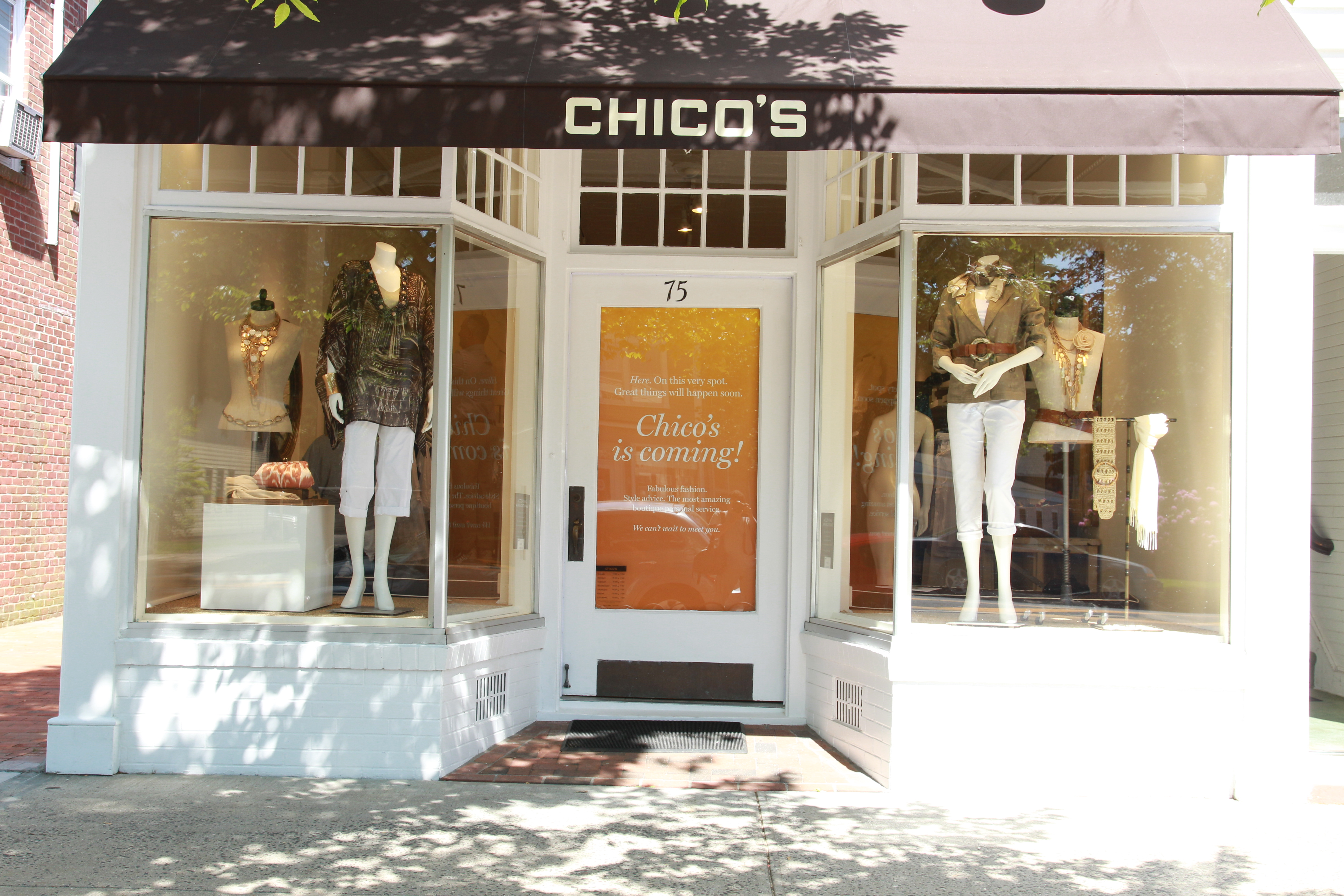 Chico's FAS Inc. plans to close 60 to 80 stores this year.