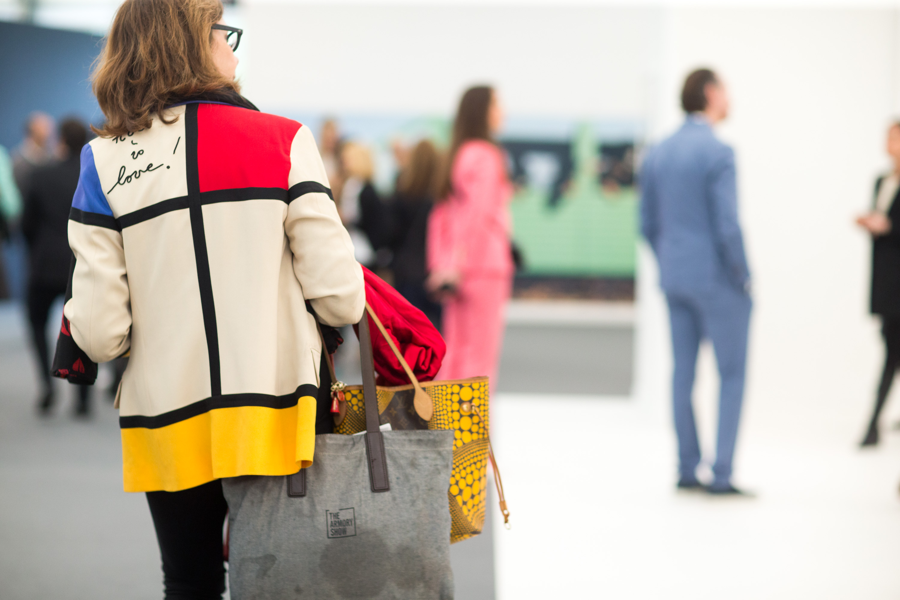 frieze new york, they are wearing