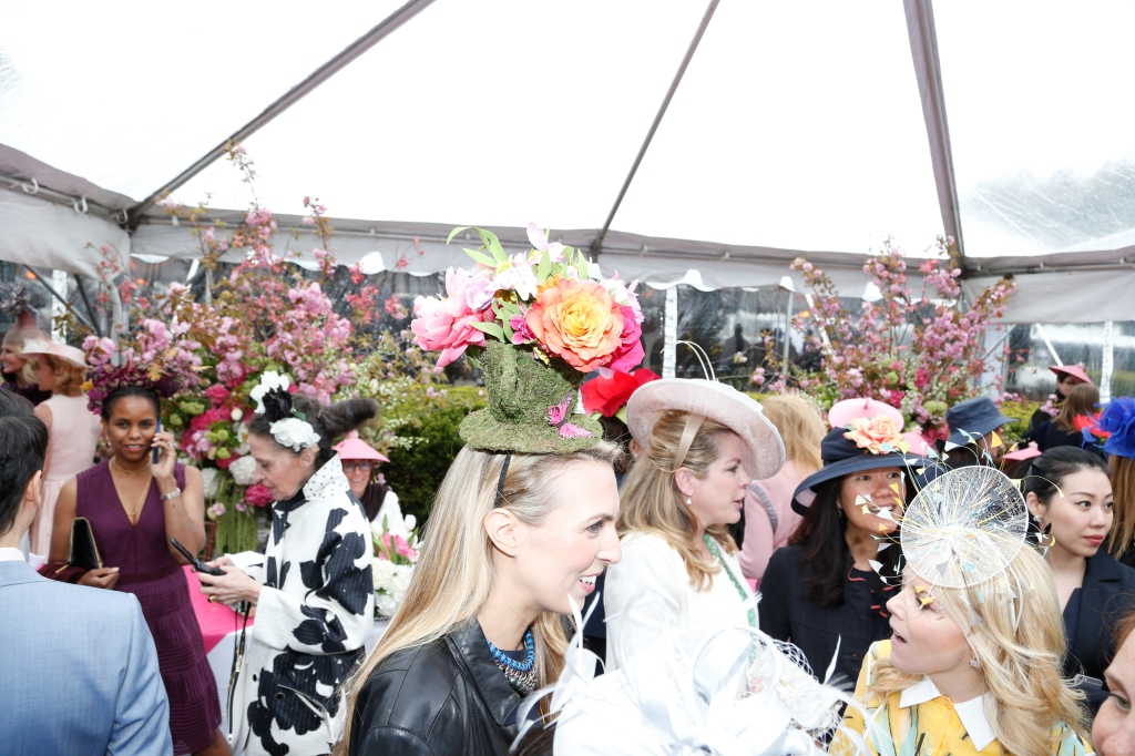 The scene at the 2016 Hat Luncheon.