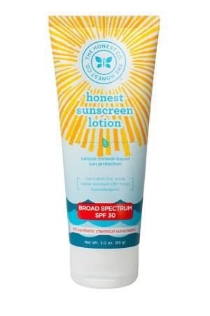 Honest Sunscreen Lotion SPF 30