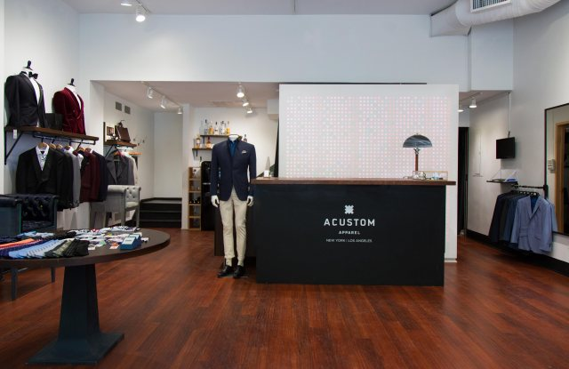 Acustom's SoHo location.