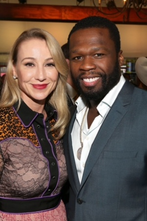 Belinda Stronach and 50 Cent