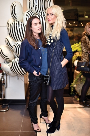 Poppy & Tallulah  Nationality: British  Delevingne and Harlech at the Jo Malone London flagship in October.