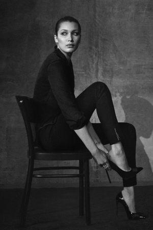 Bella Hadid Joe's Jeans fall 2016 ad