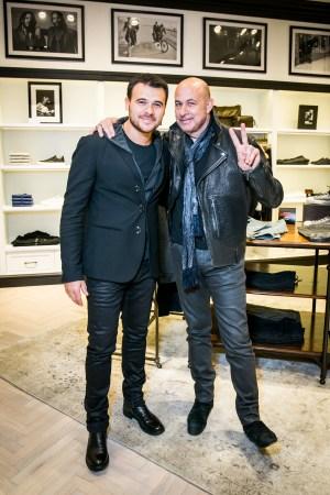 Emin Agalarov and John Varvatos
