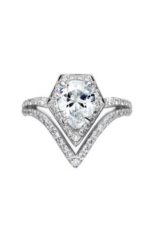 Karl Lagerfeld bridal jewelry line.